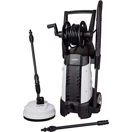 Eurom Force 2000Plus senkrecht Elektro 400L/h 2000W schwarz weiß Reinigungstuch, hohe Druck oder Hochdruckreiniger-Hochdruckreiniger (senkrecht, elektrisch, 8m, schwarz, weiß, IPX5, II)