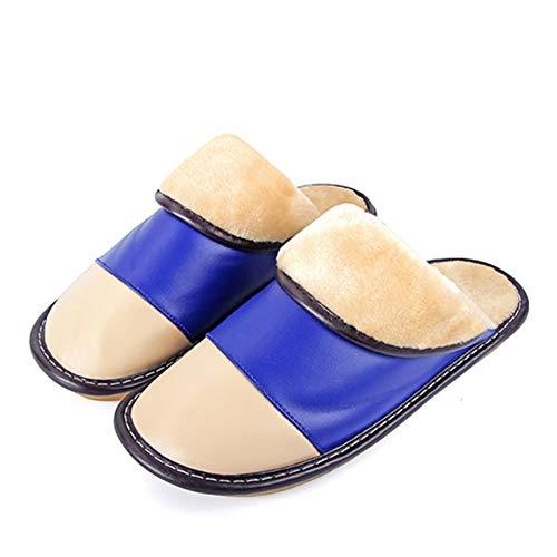 Meaeo Winter Hausschuhe Startseite Schuhe Innenboden Warme Hausschuhe Für Männer Frauen Plüsch Slipers Rutschfeste Slipper, Größe-38