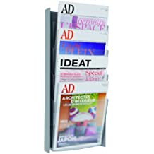Alba DDPROGM M - Expositor de revistas para pared (formato A4)