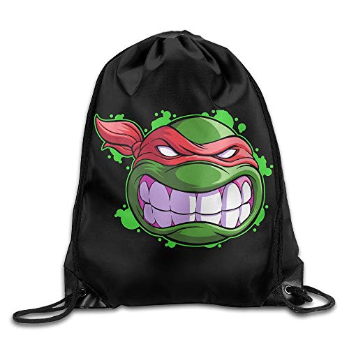 SunHann Teenage Mutant Ninja Turtles Raphael Unisex Shoulder Bags Drawstring Backpack/Rucksack