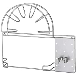 Ikea - VARIERA porte- tuyau d'aspirateur en argent