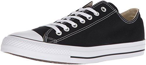 9 Star All Converse Herren-größe (CONVERSE Chuck Taylor All Star Seasonal Ox, Unisex-Erwachsene Sneakers, Schwarz (Black), 42.5 EU)