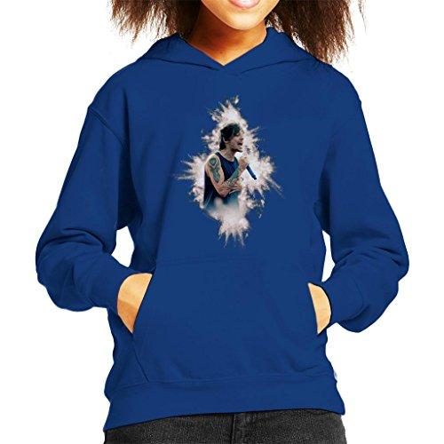 POD66 Louis Tomlinson of One Direction Murrayfield Stadium 2014 Kid's Hooded Sweatshirt