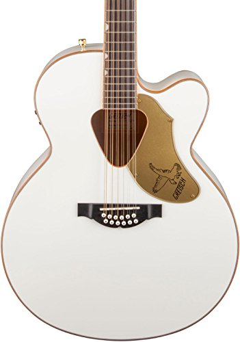 G5022CWFE-12 Jumbo Falcon CE Cutaway Electric White