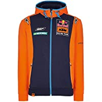 Red Bull KTM Racing Team Line Felpa con Cappuccio Bambino con Zip e  Cappuccio Alpinestars MotoGP 08f017407162