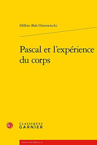 Pascal et l'expérience du corps
