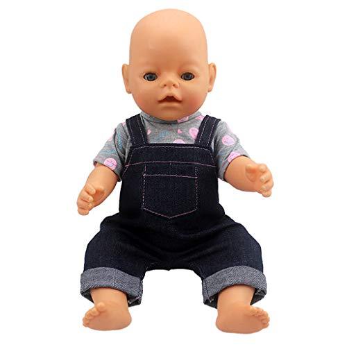 Zolimx Puppenkleidung Niedliche Kleider Kleidung schöne Kleidung Outfits Kostüm für American Doll (14-18inch) (Doll Ziemlich Kostüm)