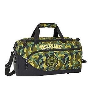 Bolsa de Deporte Grande de 50 cm, Color Caqui Paul Frank