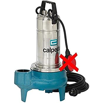 Hopopular Submersible Pump 250W Stainless Steel Electric Pump for Dirty Soiled Dirty Waters Submersible Sewage Dirty Water Drain Septic Sump Pump Floating Switch Sewage Pump