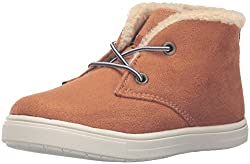 carters Boys Cloudy Bootie, Brown, 8 M US Toddler