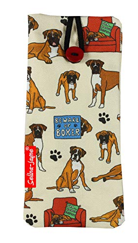 Selina-Jayne Boxer Dog Limited Edition Designer Weiches Gewebe Brillenetui