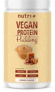 PROTEIN PUDDING CARAMEL Vegan 500g | 83,4% Eiweiß | 113 Kalorien | Low Carb...