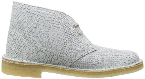 CLARKS ORIGINALS DESERT BOOT F - Bottines / Boots - Femme Blanc - Blanc