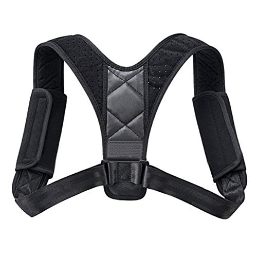 Geradehalter,Rücken Geradehalter,Einstellbare atmungsaktive Rücken Schulter Stützorthese Korrektor Korrektur für die Verhinderung von Bucklige Erwachsene Kinder Männer Frauen