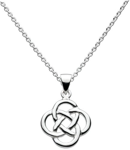 heritage-womens-sterling-silver-celtic-knot-necklace-of-length-18-inch