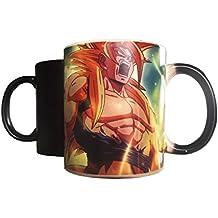 """Taza mágica """"Goku"""" - Muestra la imagen cuando la taza se calienta"""