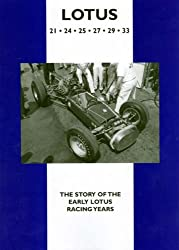 Lotus 21, 24, 25, 27, 29, 33: The Story of the Early Lotus Racing Years