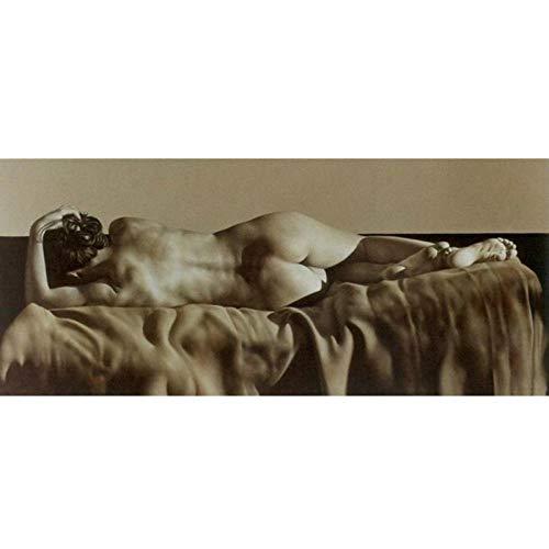 wydlb Künstler Leinwand Moderne Wandmalerei Kunstkäufer Klassischer Hintergrund Schöne Nackte Frauen, Gemalte Gemälde Kein Rahmen 70x100cm