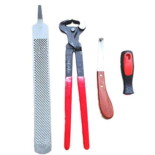 Preisvergleich Produktbild Blue Vessel Reparieren Huf-Werkzeuge 3 Sätze Von Hufeisen Klemme Hufeisen Messer Hufeisen Datei Kabelbaum Reiter Lieferungen