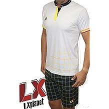 LX PLANET Equipaje Square White (L)