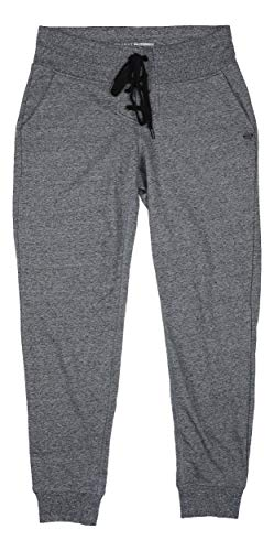 DKNY Lace-Up Fly Tie Waist Ribbed Trim Jogger Sweatpants - Dkny Damen Hosen