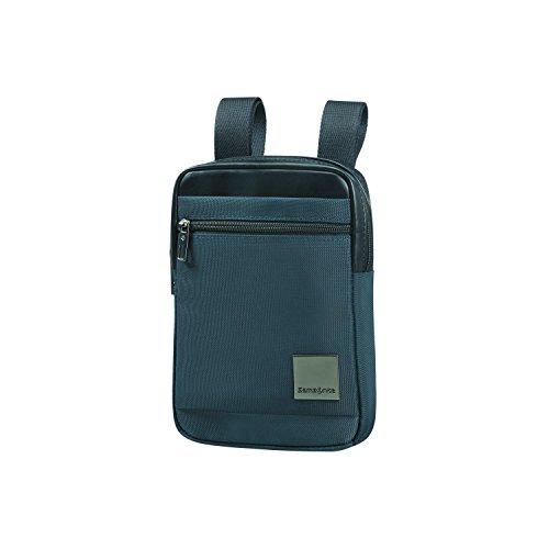 SAMSONITE Hip-Square - Tablet Cross-over Bolso bandolera, 23 cm, 2 liters, Azul (Dark Blue)