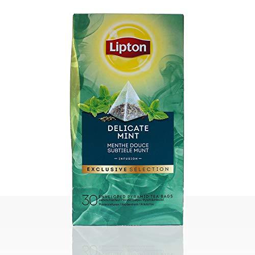 Lipton Tee Exclusive Selection Delicate Mint Pfefferminze 30 x 1,1g