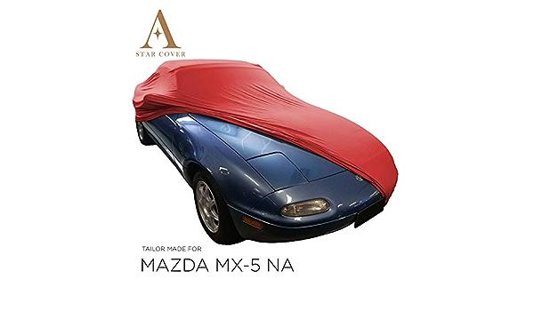 Star Cover Autoabdeckung Rot Mazda Mx 5 Na SchutzhÜlle Abdeckplane Schutzdecke Vollgarage Auto