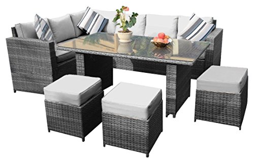 gartenm bel rattan gebraucht kaufen nur 3 st bis 65 g nstiger. Black Bedroom Furniture Sets. Home Design Ideas