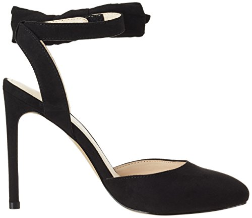 Another Pair of Shoes Pippae1, Scarpe Col Tacco con Cinturino a T Donna Nero (Black01)