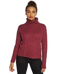 JACQUELINE de YONG Damen Pullover Strickpullover Rollkragen JDY JUSTY  15154665 ae1fe9780d
