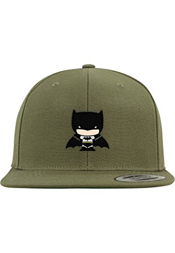 MERCHCODE Batman Comic Snapback Cap, Grün, One Size
