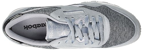Reebok Damen Cl Nylon Gymnastikschuhe Grau (Cozy-meteor Gry/cloud Gry/white/black)