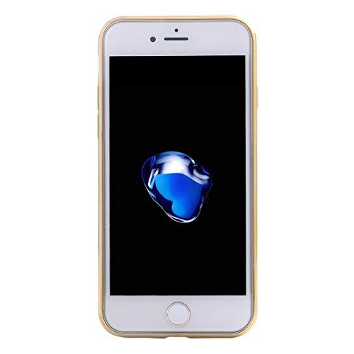 iPhone Case Cover Pour iPhone 7 Rhombus tissu Pattern électrodéposition TPU cas de protection ( SKU : Ip7g7915bc ) Ip7g7915ba