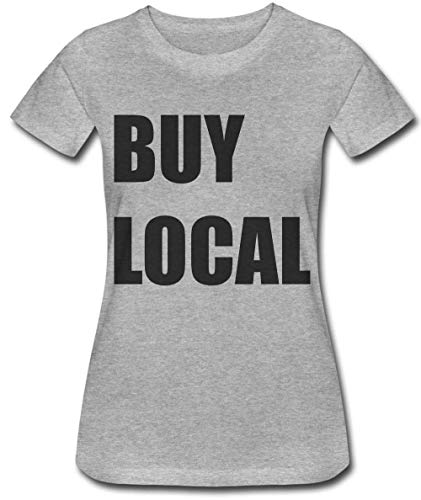 Buy Local Minimal Statement Damen T-Shirt Large -