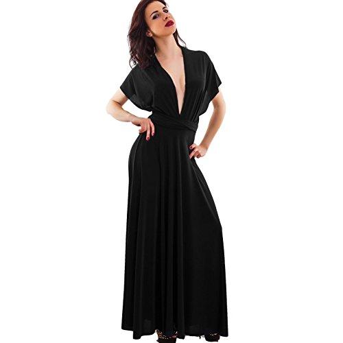 Toocool - Robe - Colonne - Femme Noir