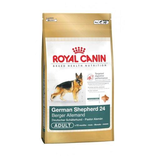 Royal Canin Deutscher Schäferhund bekömmlicher und Natur Adult Trockenfutter für Hunde 3kg (Deutscher Adult Schäferhund)