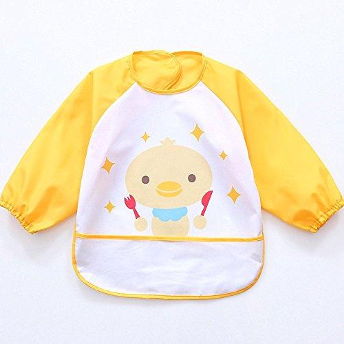 Oral-Q Unisex Bambini Arts Craft pittura grembiule bambino impermeabile Bavaglino