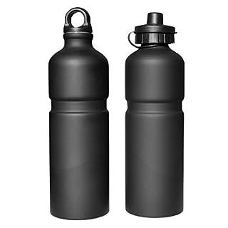 Trinkflasche JOE OXXFORD, schwarz matt