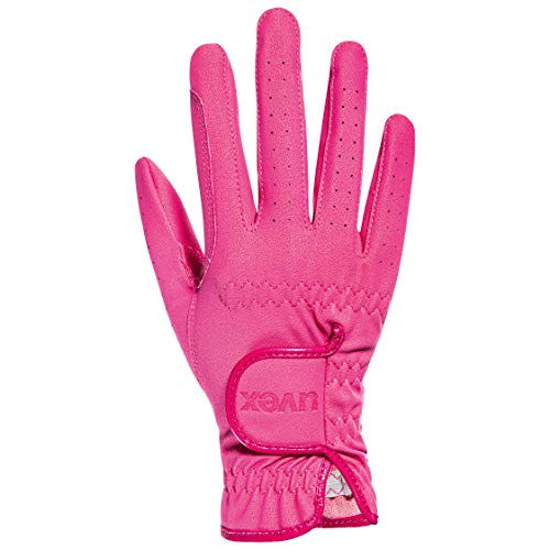 Uvex Kinder Sportstyle Kid Reithandschuhe, pink, 4.5