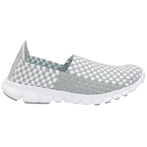 Gola Panas Damen Sneakers Grey/White