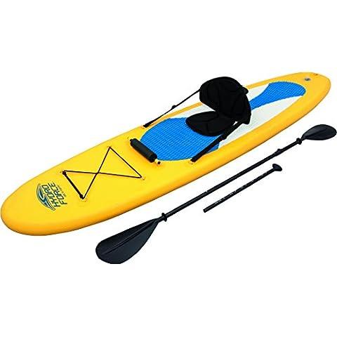 Bestway SUP und Kajak Stand Up Surfboard Set Rip Tide - Tabla de paddle surf, talla 305 x 76 x 10 cm