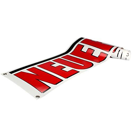Neueröffnung Spannbanner / Banner / Werbebanner 2 x 0,35 Meter 510g PVC Plane Plakat