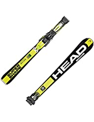 HEAD i.Supershape Speed Modelo 2016 - Esquíes (incluye fijaciones PRX 12S)  Amarillo Negro / Amarillo Talla:177cm