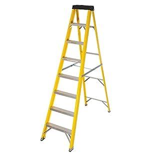 Abbey Fibreglass Swingback Step Ladder 8 Tread