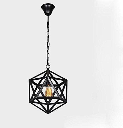 FAYM - El bar del jardín y candelabros de hierro forjado salón dormitorio ideas de iluminación luces restaurante poliedro