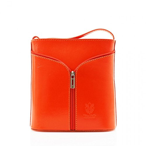 Craze London - Borsa a tracolla Donna Orange