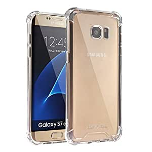 galaxy s7 edge case jenuos crystal clear shockproof. Black Bedroom Furniture Sets. Home Design Ideas