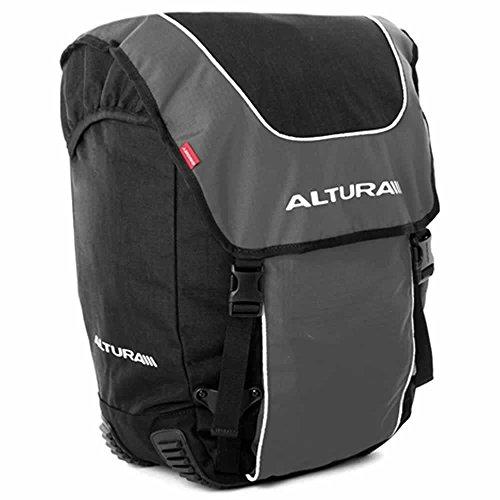 Altura Orkney 56 Gepäcktasche Fahrradtasche 2013, 2 Stück schwarz - schwarz
