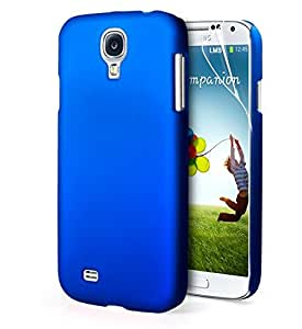 ImagineDesign Rubberised Hard Case For Samsung Galaxy S4 I9500 (Uber Blue)